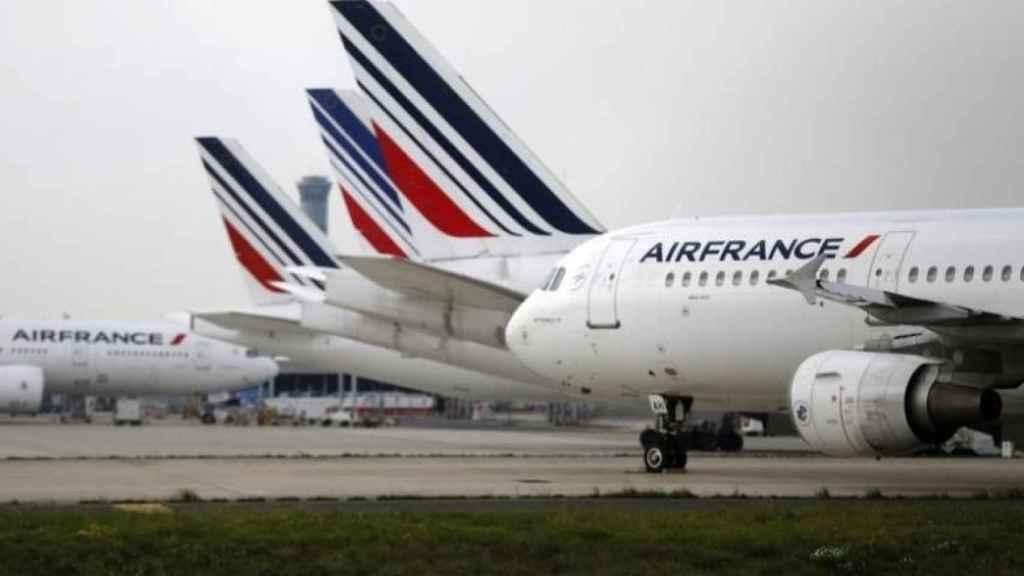Aviones de Air France.
