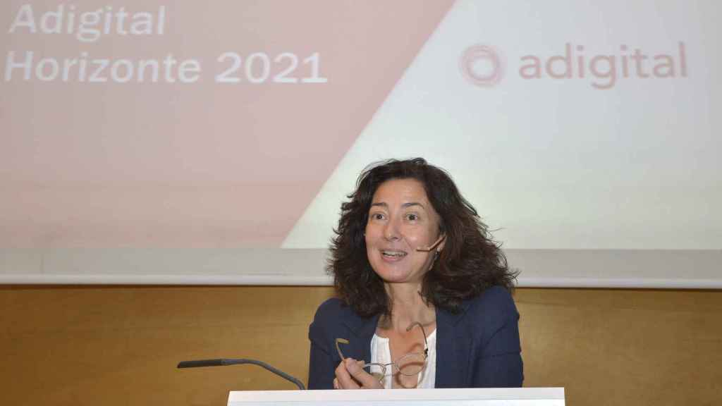 Carina Szpilka, presidenta de Adigital.