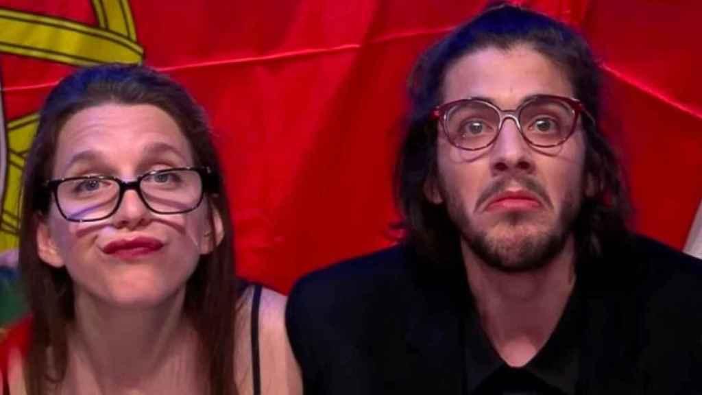 Salvador y Luísa Sobral.