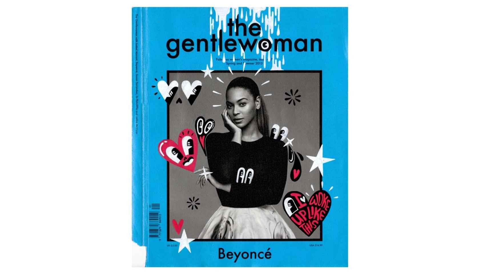 Beyoncé para el Nº7 de The gentlewoman (Primavera-Verano 2013).