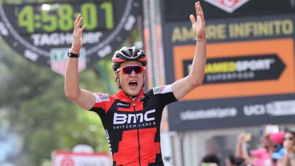 El suizo Dillier (BMC) se impone en la sexta etapa del Giro