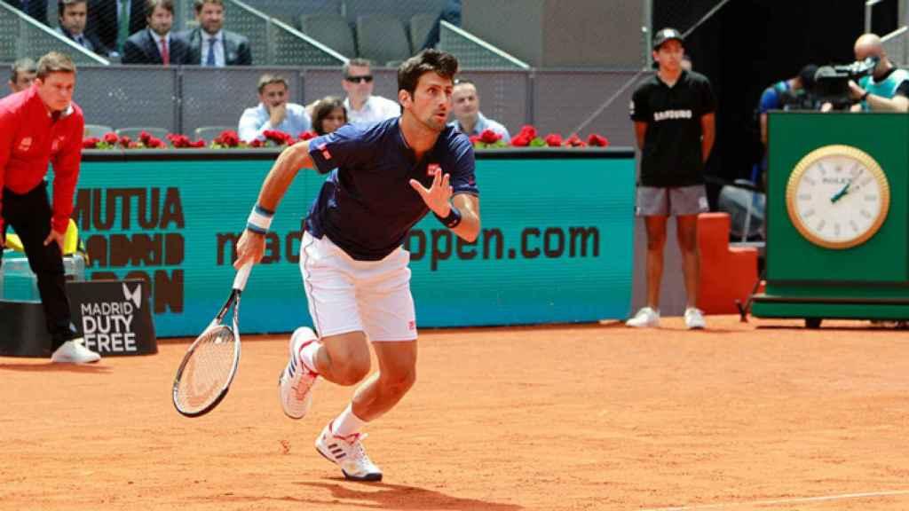 Novak Djokovic acabó con Feliciano López (Foto: Mutua Madrid Open)
