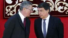 Alberto Ruiz Gallardón e Ignacio González, cuando ejercían cargos públicos.