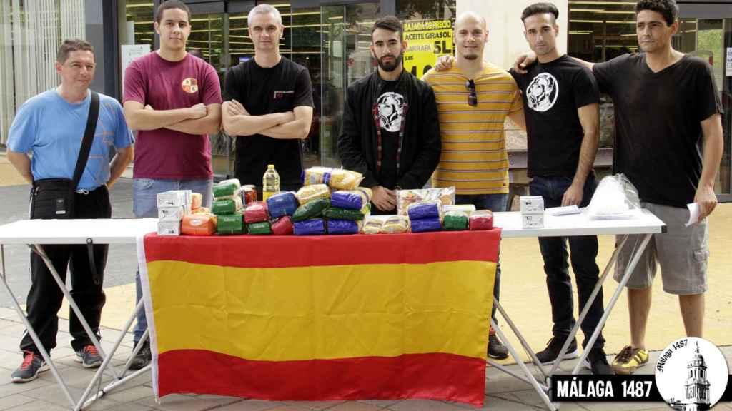 Málaga 1487 es un colectivo fascista.