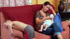 Una madre cansada en el programa de televisión 'Super Nanny'