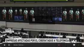 La imagen del negro de Whatsapp en una de las piezas del informativo de Antena 3.