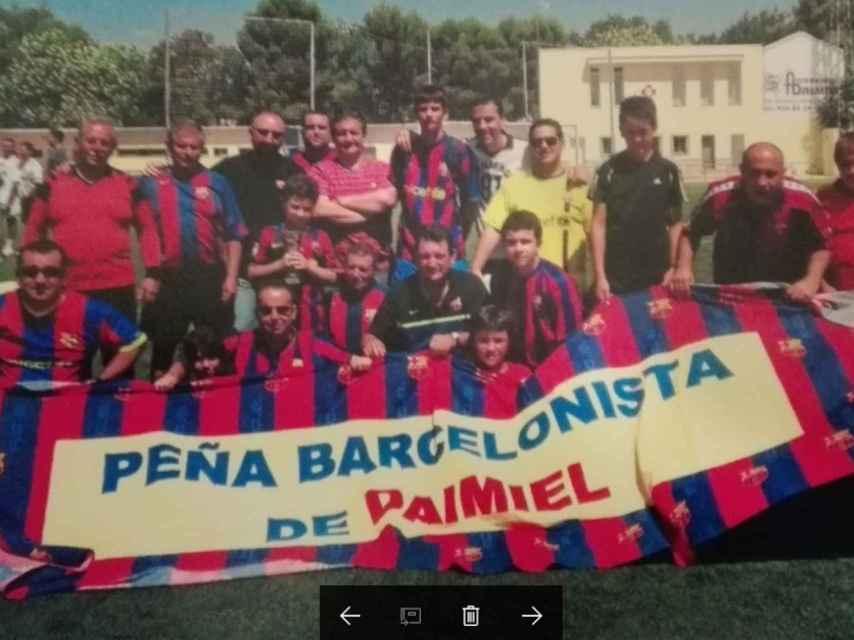 Peña Barcelonista de Daimiel (Ciudad Real): El nacionalismo tiene mucho poder de influencia.