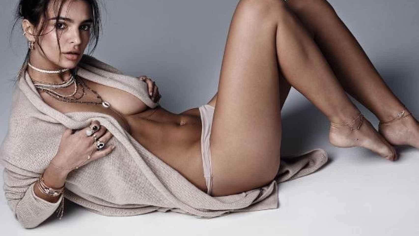 Las fotos más 'hot' de la modelo Emily Ratajkowski
