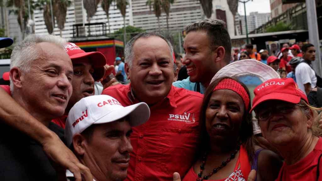 Diosdado Cabello, número dos del Gobierno venezolano.
