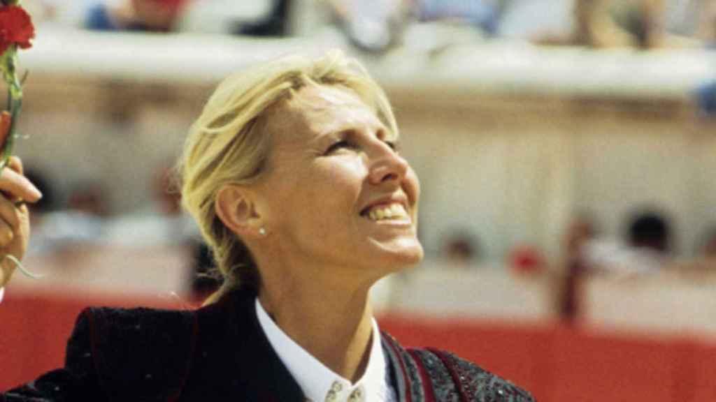 La rejoneadora Marie Sara en una imagen de archivo