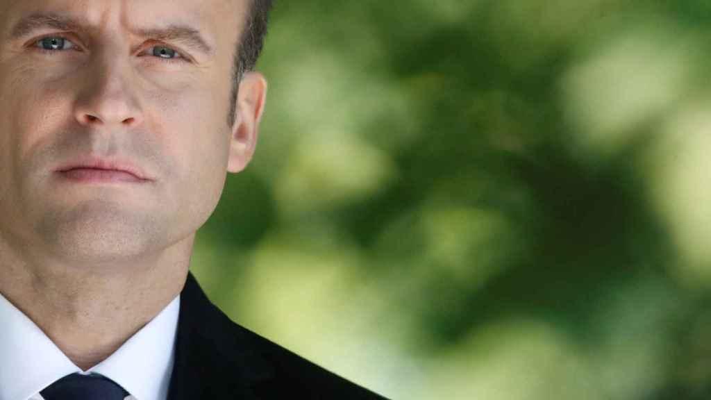 Macron en una imagen de esta semana en París