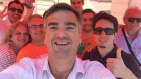 Manuel Varela, en un acto electoral con Ciudadanos en Dos Hermanas.