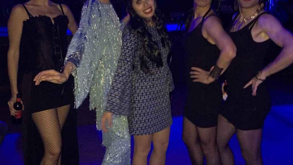 Salomé, junto a Massiel, Azúcar Moreno... y una futura ganadora del festival.