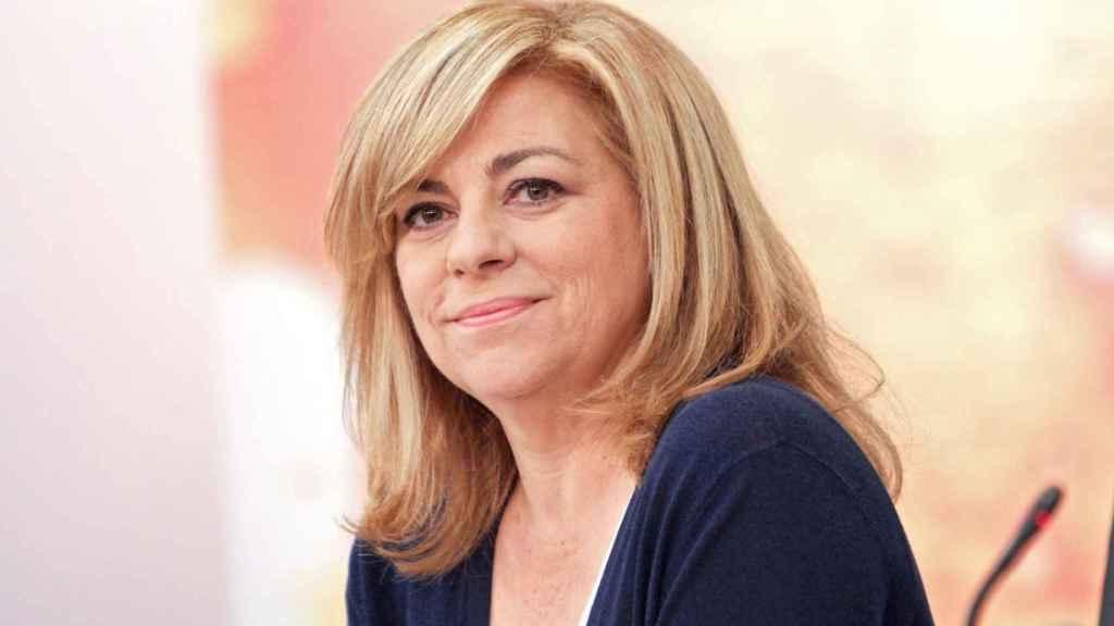 Elena Valenciano, en una foto de archivo, apoya a Susana Díaz como secretaria general.
