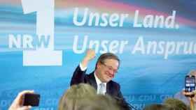 Armin Laschet, el candidato de la CDU en Renania.