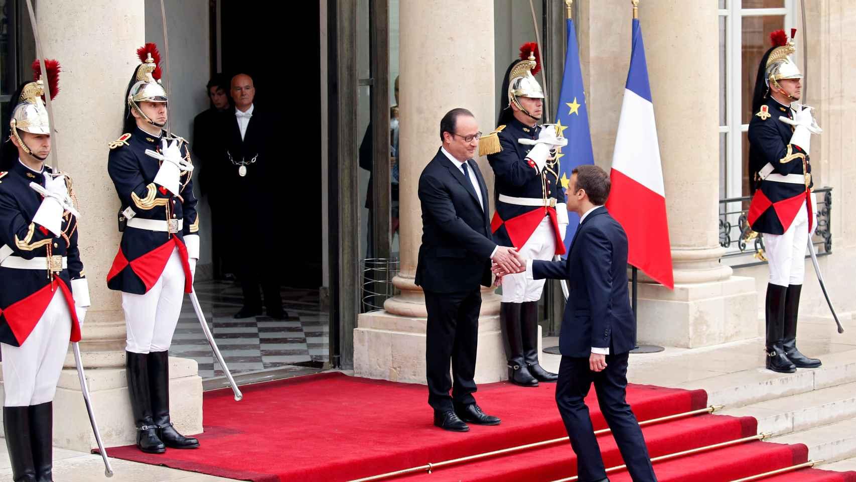 La toma de posesión de Macron