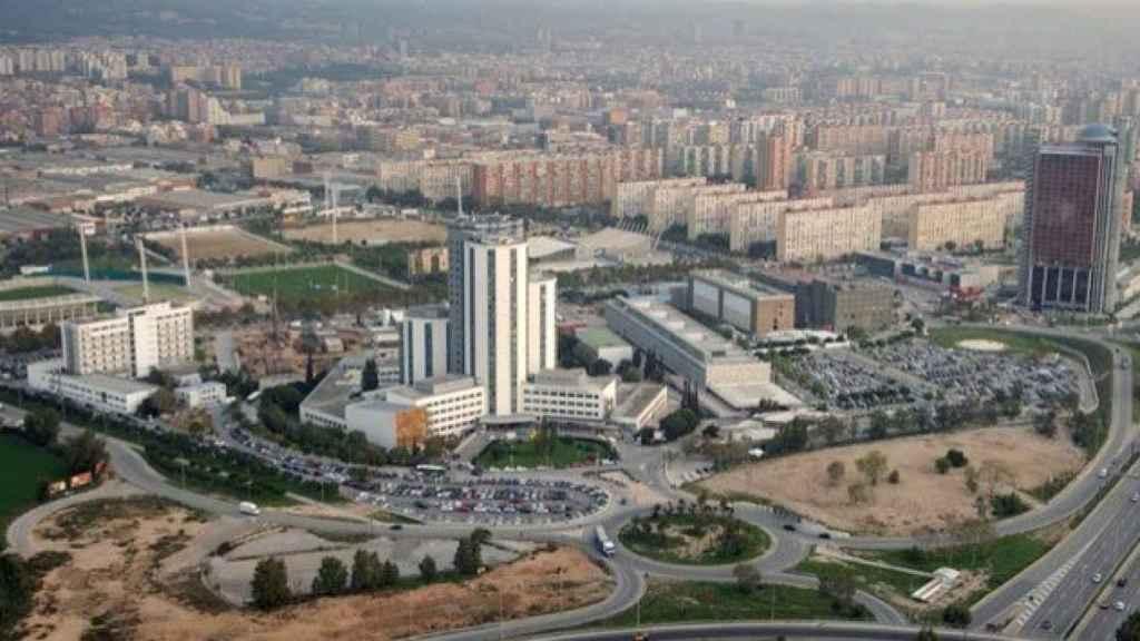 Vista aérea del Hospital de Bellvitge