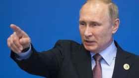 Putin, durante una rueda de prensa.