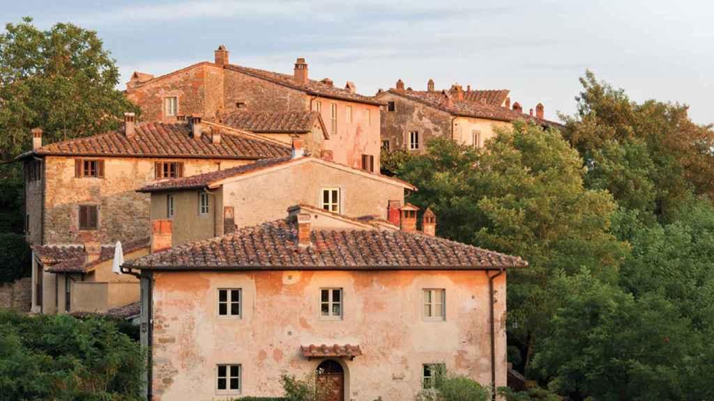 Finca de Il Borro en plena Toscana italiana. | Foto: cortesía Il Borro.