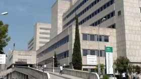 Imagen del Hospital Materno Infantil de Málaga donde está ingresada la menor.