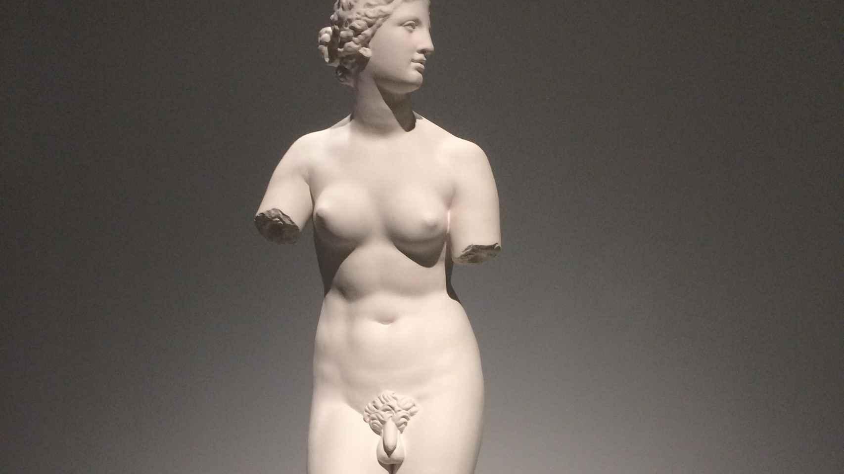 Venus de Médici (hermafrodita).