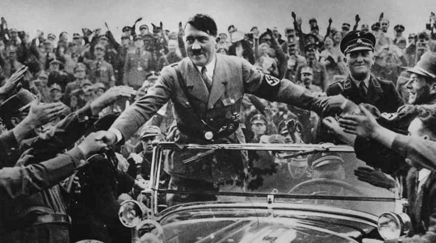 Adolf Hitler en Nuremberg, en 1933.