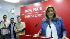Díaz, este miércoles en la agrupación del PSOE en Fuencarral (Madrid).