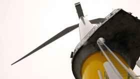 Imagen de archivo de un aerogenerador.