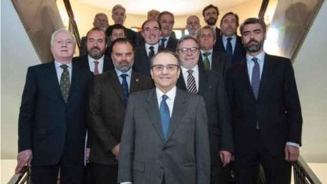 Principales editores de la prensa española agrupada en la AMI.
