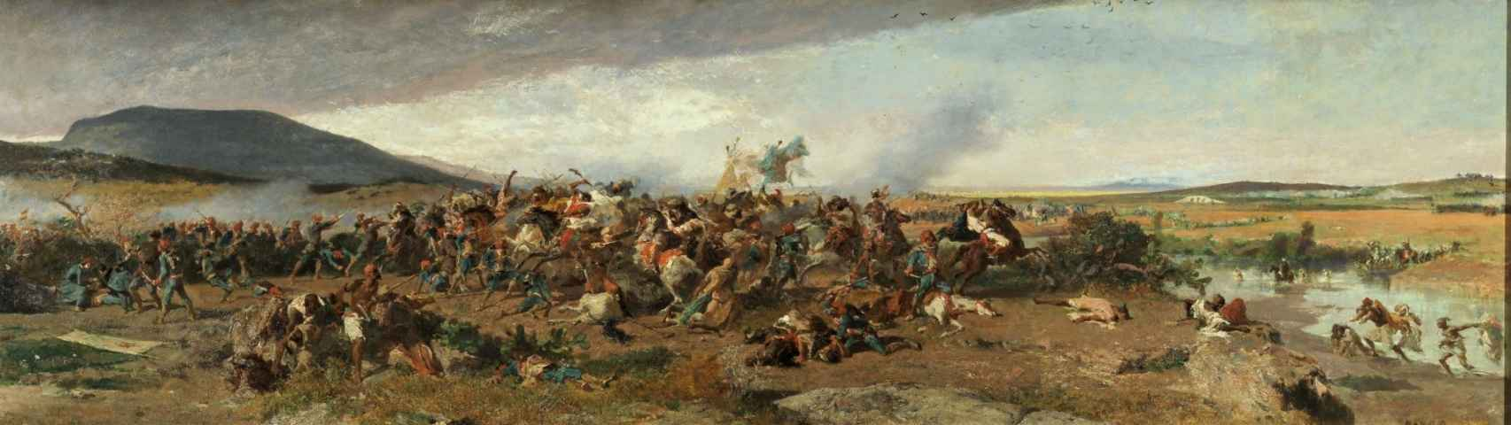 La Batalla de Wad-Rass, 1861.