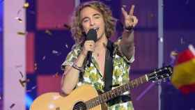 Manel Navarro en Eurovisión.