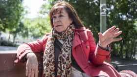 La exministra de Medio Ambiente, Cristina Narbona, en un parque de Madrid.