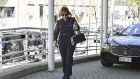 La periodista María Teresa Campos, paseando por Madrid