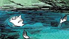 Una de las viñetas de Levedad, la obra de Catherine Meurisse.