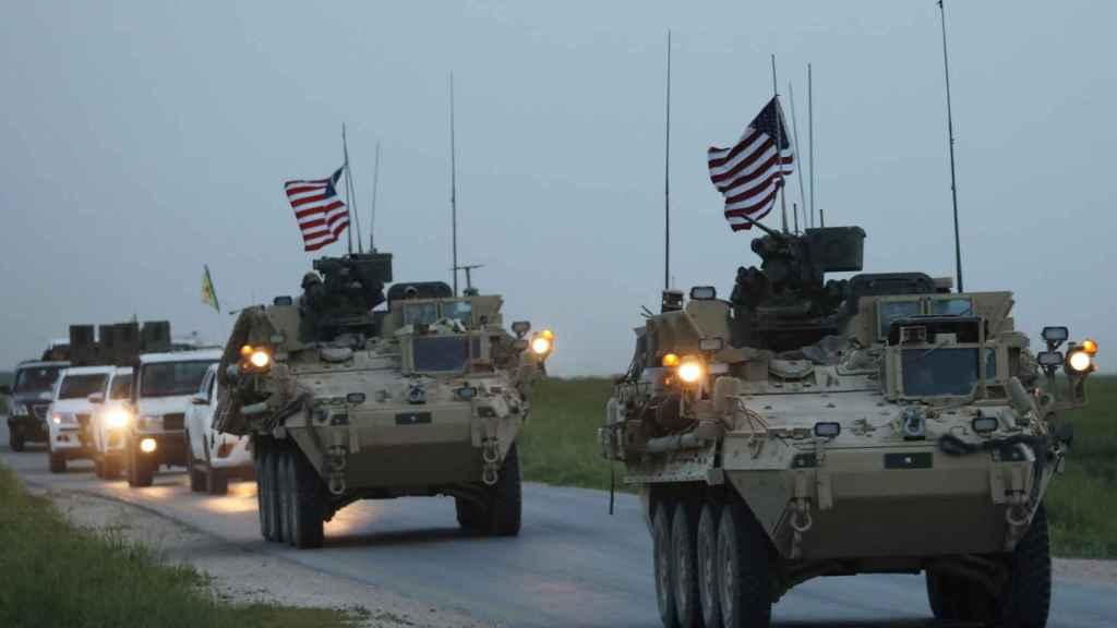 Fuerzas de la coalición internacional en Siria.