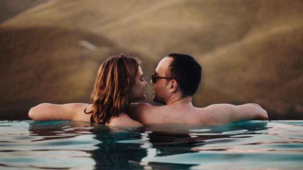 Risto Mejide y Laura Escanes serán marido y mujer este sábado.