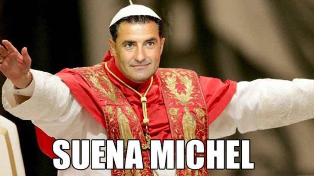 Uno de los memes que inundaron la red en la elección del nuevo Papa.