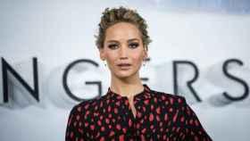 La actriz Jennifer Lawrence.