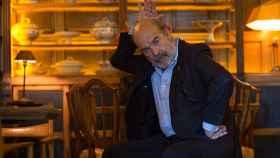 Antonio Resines en el restaurante El perro y la galleta, en el centro de Madrid.
