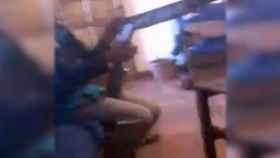 Captura del vídeo emitido a través de  'Facebook Live'