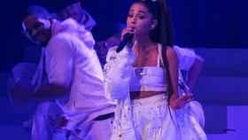 Ariana Grande, en una actuación.