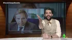 'El intermedio' analiza los 'caretos' de Carmona en Ferraz