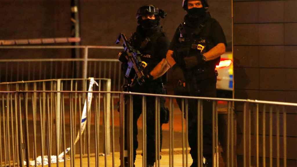 La Policía ha acordonado el Manchester Arena.