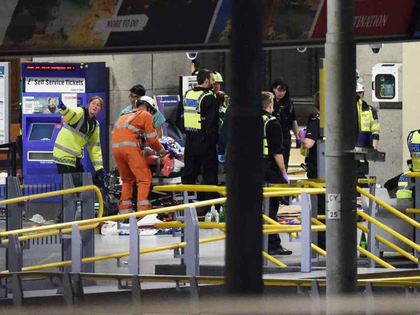 La explosión se ha producido a la salida del estadio y cuando finalizó el concierto de forma deliberada
