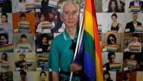 Chi Chia-wei, activista de los derechos de los homosexuales en Taiwan.