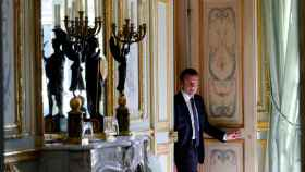 Macron, este miércoles en el Elíseo