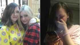 Heather y Riley pudieron encontrarse gracias a que el mensaje de búsqueda de una de ellas se viralizó en Twitter.