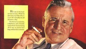 Antes los médicos anunciaban cigarrillos, algo hemos progresado.