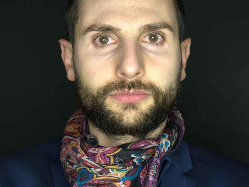 Omar Jerez, artista performer.