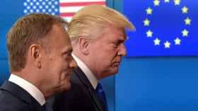 Los dos Donald, Tusk y Trump
